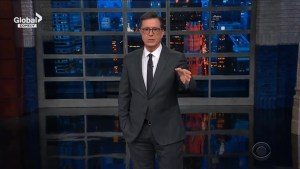 Colbert pokes fun at college admission scandal